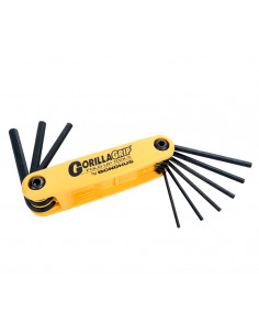 Bondhus Allen Wrench Set Folding Large (in inches)
