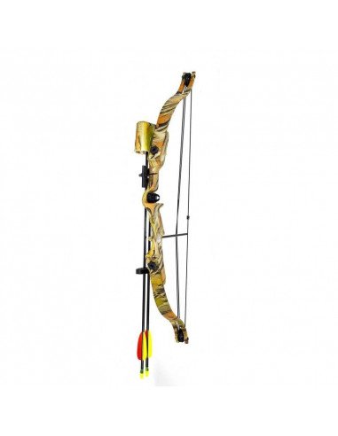 Compound bow 20 lbs - camouflage