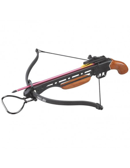 Crossbow 150 Lbs with wooden gun barrel