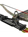 MK-XB21 Crossbow pack 175 lbs camouflage + Red Dot + quiver