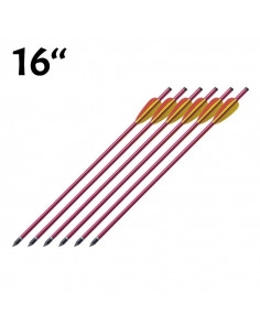 Pack of 6 arrows 16 inches...