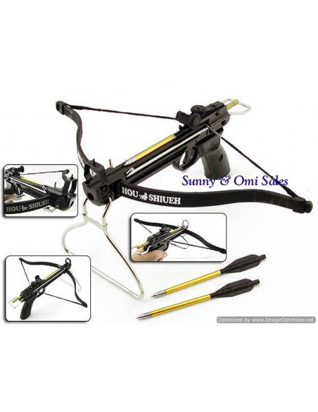 Crossbow 80 lbs with metal chassis