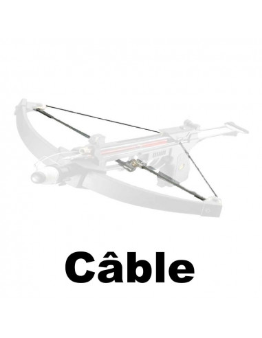 Replacement cable for fishing crossbow