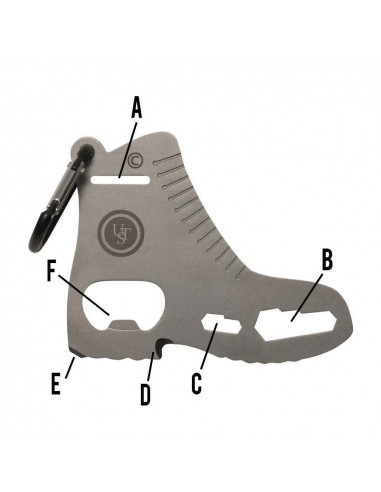 Multifunction survival card Boot