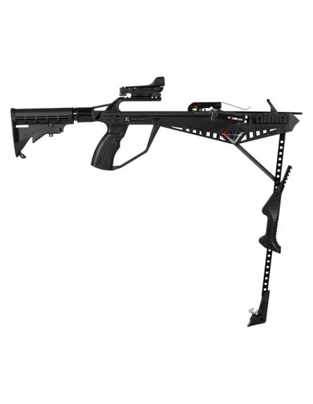Crossbow 90 pounds Cobra R9 Deluxe (with buttstock + viewfinder + lamp + handle)