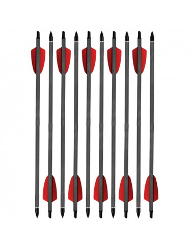 Lot of 10 arrows 15 inches for Cobra R9