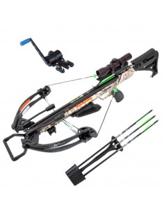 Crossbow Carbon Express Piledriver Badlands camo 185 lbs 390 fps