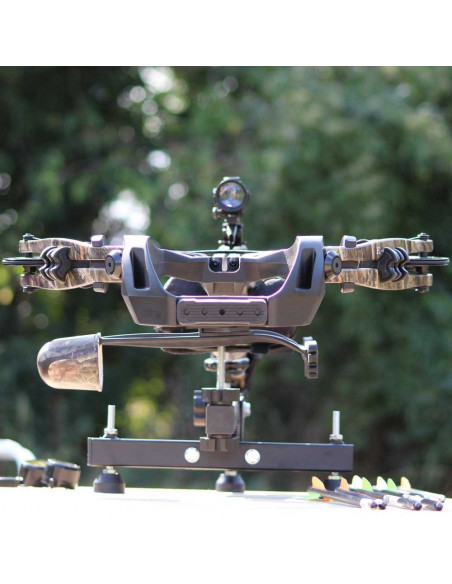 Shooting support for crossbows and rifles