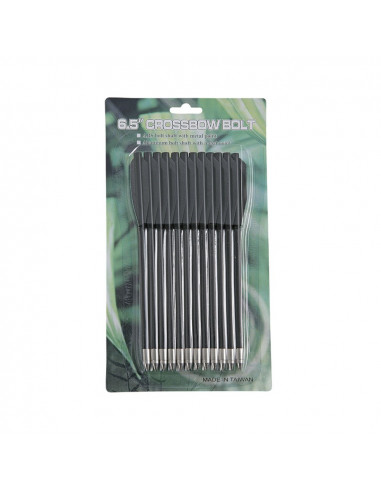 Black Plastic Bolts for 50 and 80 Pistol Crossbows