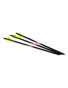 3 Illuminated 16.5 inch Quill arrows for Excalibur crossbows