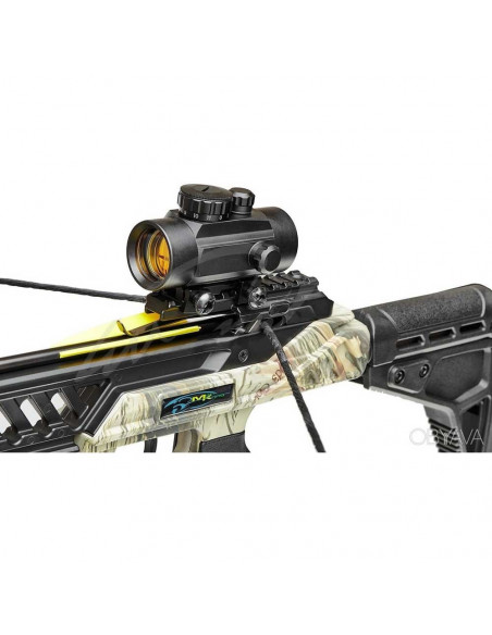 Crossbow Hound Camo 175 pounds + red dot + quivers