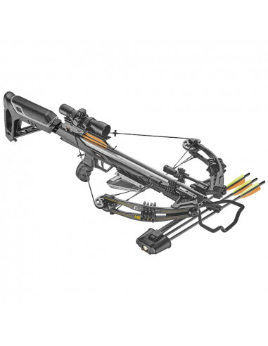 Black HEX-400 Compound Crossbow 210 lbs