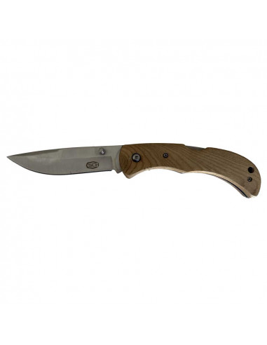 Folding knife with real wood handle /...