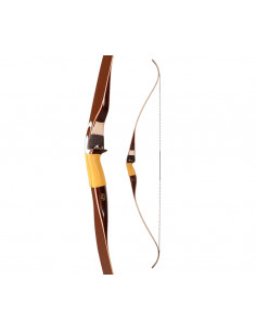 Arc recurve monobloc Bear Archery Fieldbow Kodiak White Maple 60 pouces