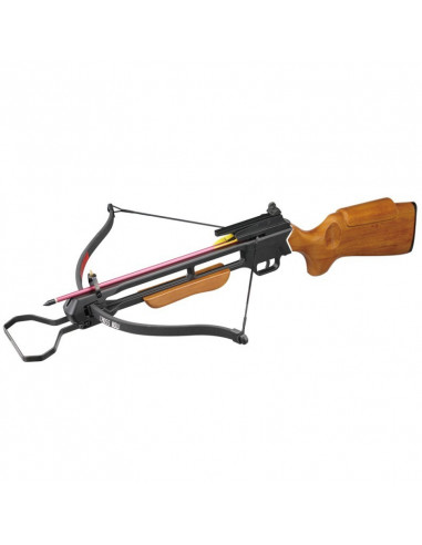 Crossbow 150 lbs with preassembled rope and Quiver
