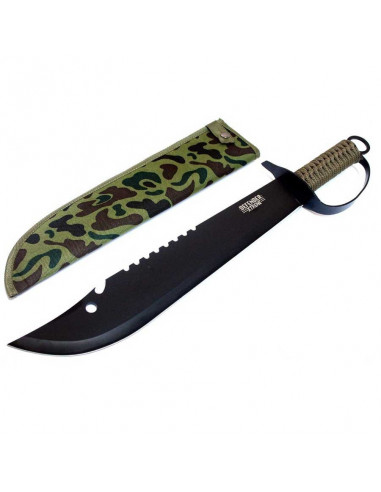 Machete 19 inches (48cm) with rope handle and case