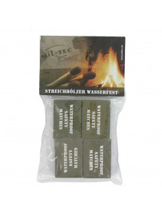 Waterproof matches (4 boxes of 40)