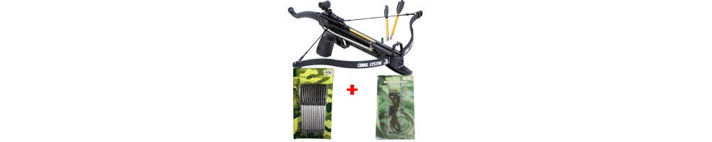 The mini crossbow packs: practical and economical